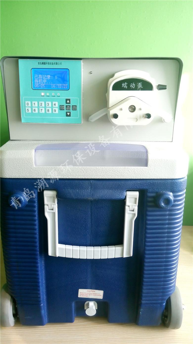 TC-8000D便携式全自动水质采样器实物图