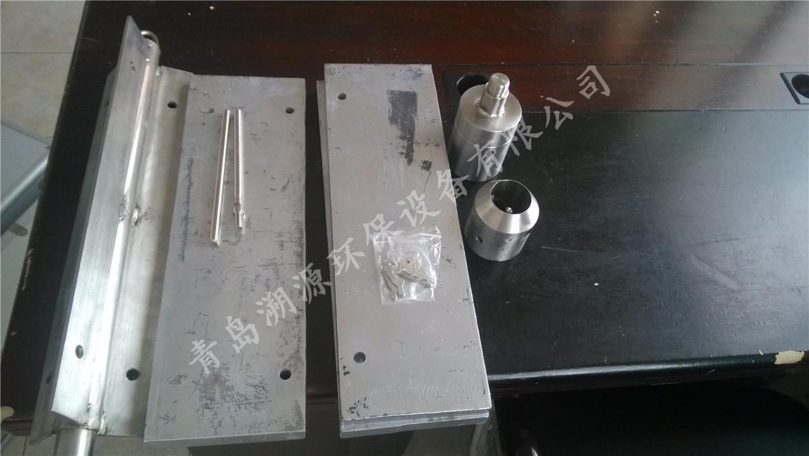 重力式柱状采泥器部件