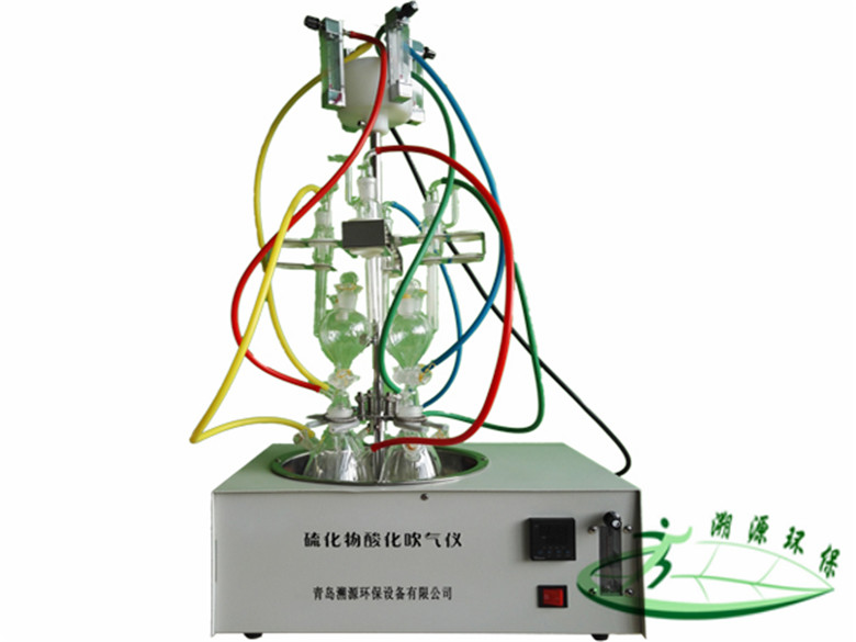 <strong><strong><strong><strong>GGC-400型水质硫化物-酸化吹气仪</strong></strong></strong></strong>
